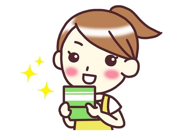 アイキャッチ画像(通帳を見るママ)