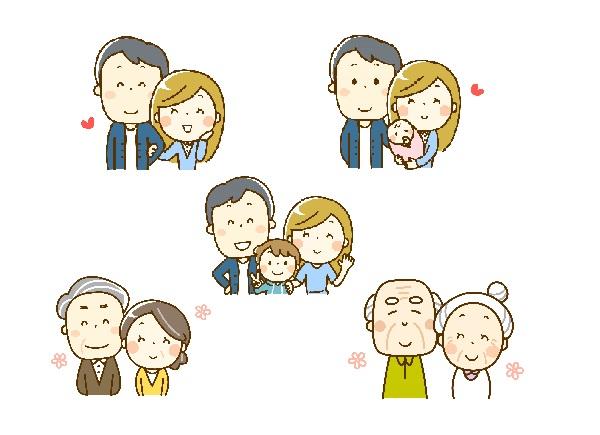 アイキャッチ画像(家族の変遷)